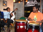 Michael_on_guitar_bhembe_on_percussion